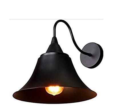 Decoroom Wall Sconce Vintage Industrial Wall Light Gooseneck Edison Lamp Retro Metal Wall Lighting Fixture for Kitchen