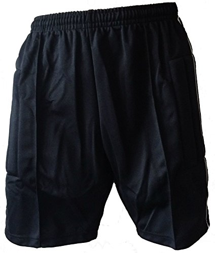 CNT Soccer Goalkeeper Shorts Padded Black Goalie AM