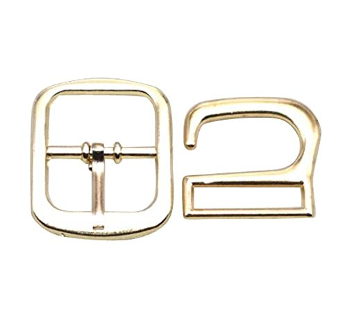 2 Pairs Metal Button,Adjustment Buckle,High Heel Leather Sandals Buckle,C02 by DRAGON SONIC