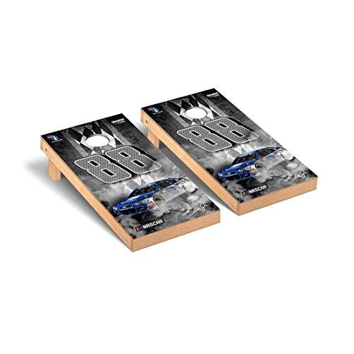 Victory Tailgate NASCAR Dale Earnhardt Jr. #88 Regulation Cornhole Game Set Pit Row Version 24 Nascar Bean Bag