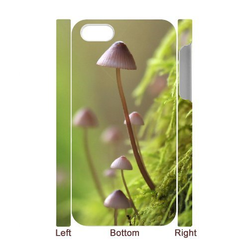 SYYCH Phone case Of Color Mushrooms Cover Case For Iphone 4/4s