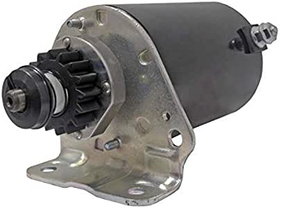 NEW STARTER MOTOR FITS CUB CADET MOWER 364 Z-FORCE 18 44 LT1024 WITH FREE GEAR