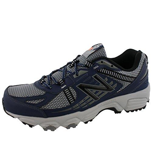 New Balance Men's, 410v4 Trail Running Shoes Grey Blue 9 4E