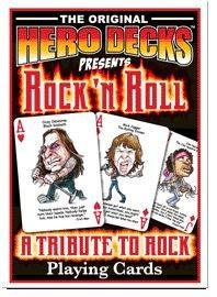 HeroDecks - Heros of Rock 'n Roll - Playing Cards by HeroDecks