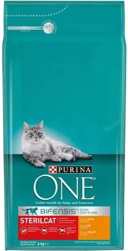 PURINA ONE - Bifensis esterilizados, con Pollo y Trigo 6 Kg