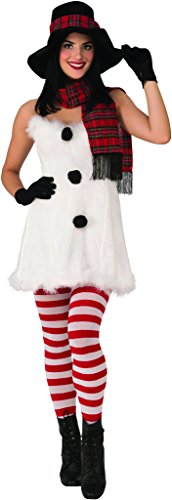 Secret Wishes Frostbite Costume, White/Black,