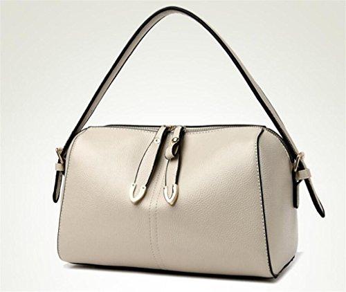 Litchi Shoulder Bag Pacchetti Bao colori Metri diagonale lavoro Bianco Simple Cross Quattro Pattern Simple Shopping Lady Meterswhite 1nqddE4Cw