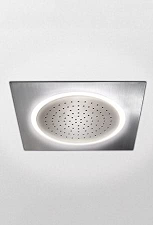 Toto TS624KG#CP Legato Ceiling Mount Showerhead With LED Lighting, Polished  Chrome