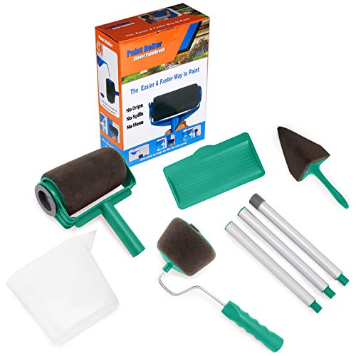 Gorich Paint Roller Brush Painting Handle Tool - No Prep, No Mess. Simply Pour and Paint to Transform Any Room in Just Minutes …