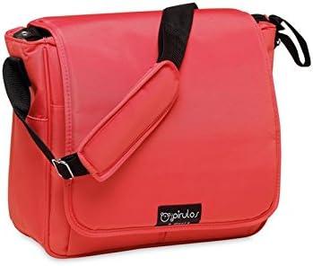 Medidas 32x14x31cm Color Rojo Pirulos Bolso Panera Cambiador Beb/é Port/átil Basic con Materiales de Alta Calidad