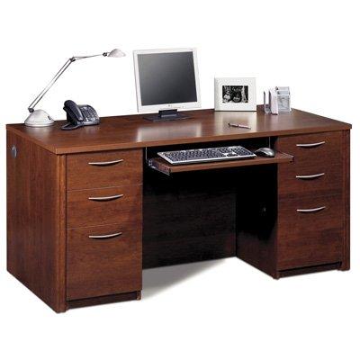 Bestar Office Furniture Embassy Collection Tuscany Brown Executive Desk (Bestar Corner Desk)