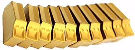 PIKA PIKA QIO 10pcs 2.2mm ZQMX 2N11-1E SP200 GTN- Einstechen Cut-Off Carbide Insert CNC-Werkzeug Drehwerkzeuge