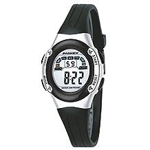 Casual Waterproof Children Girls Digital Sport Watches with Alarm, Chronograph, Date - Black
