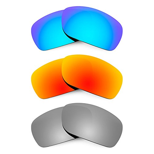 Revant Replacement Lenses for Smith Super Method 3 Pair Combo Pack - Spoiler Lenses Smith