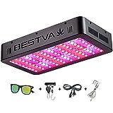 BESTVA 1000W LED Grow Light Full Spectrum for Indoor Plants Veg and Flower