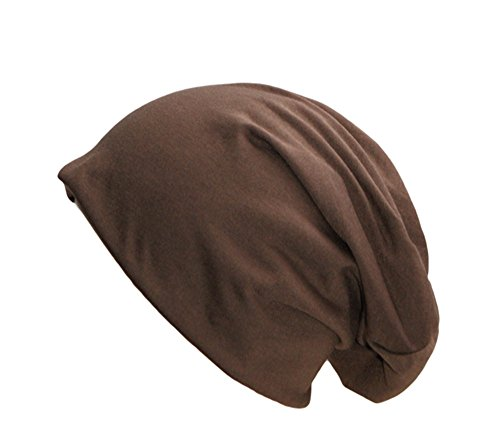 easy4fashion - Gorro de punto - para hombre marrón claro