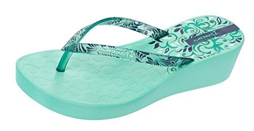 Ipanema Women's Art Deco III Fem Platform Sandals, Rose Green