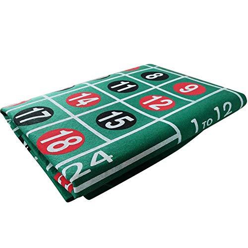 belukies Rainrain27 Roulette - Huge Luxury Roulette Wheel - Roulette Set for Casino Games - Complete Roulette Set of London (60120cm)