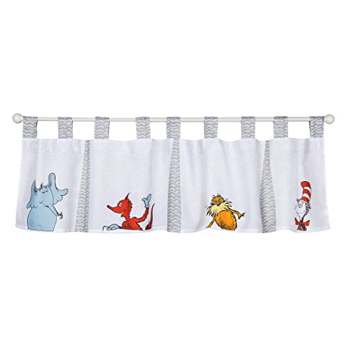 (Trend Lab Dr. Seuss Friends Window Valance, Multi)