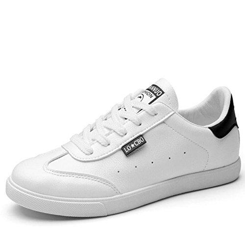 Blanco de mujer Black planos Zapatos Negro baja de Zapatos Zapatos casuales Verde bajos Zapatos GAOLIXIA ayuda 7pB1w