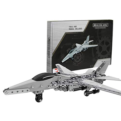 GGIENRUI Fighter Jet Airplane Model Building Blocks 452pcs Army War Bomber Plane Models
