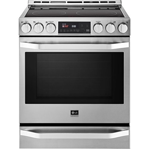 LG LSSE3026STStudio Stainless Smoothtop Electric