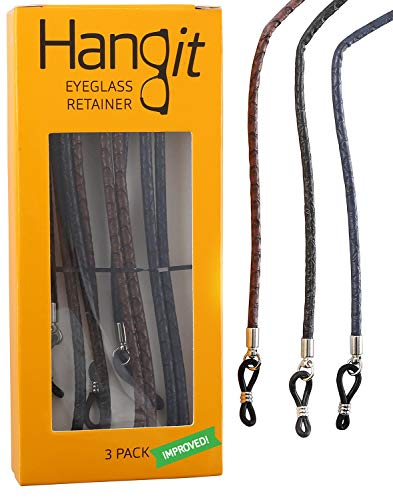 ap-Chain-Retainer 3 Pack PU Leather by HANGIT ()