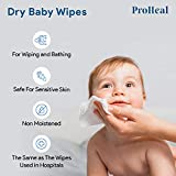 Disposable Dry Wipes, 200 Pack – Ultra Soft