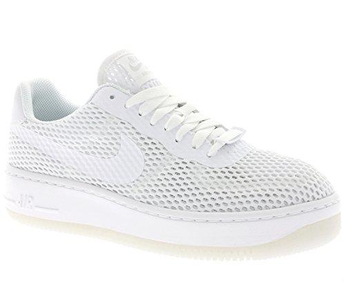 Nike W Af1 Low Upstep Br, Zapatillas de Deporte para Mujer Blanco (White / White)