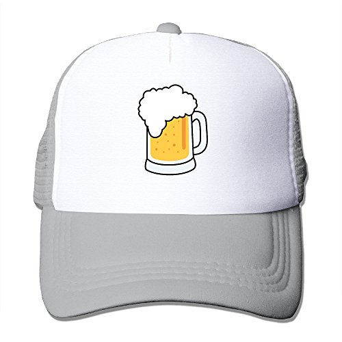 xssyz-i-love-beer-trucker-hat-mesh-cap-ash
