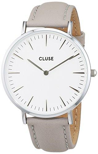 Cluse Damen-Armbanduhr Analog Quarz Leder CL18215