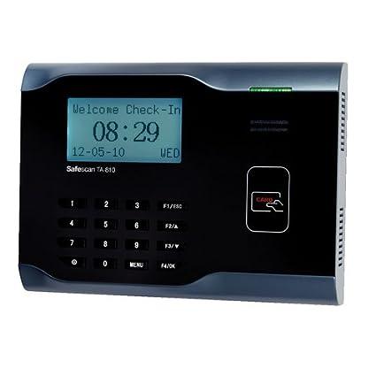 safescan ta-810 software