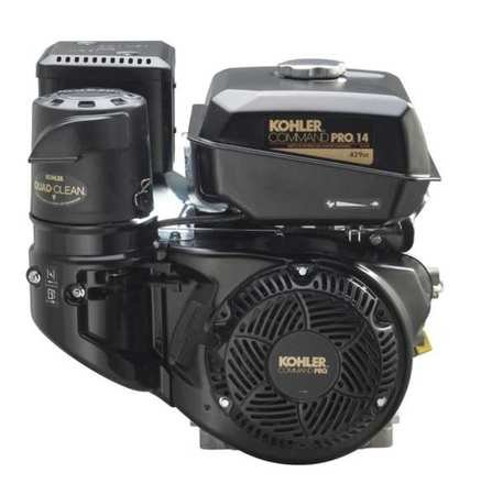 Kohler Command Pro Horizontal Engine - 429cc, 1in. x 3.49in. Shaft, Model# PA-CH440-3031 by Kohler