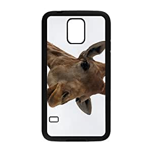 Brown Giraffe Hight Quality Plastic Case for Samsung Galaxy S5