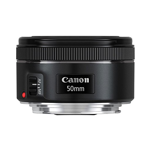 41Qf50j6sXL - Canon EF 50mm f/1.8 STM Lens For Canon Cameras With 3 Piece Filter Kit (UV-CPL-FLD) + Lens Cleaning Kit
