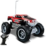 Maisto Remote Control Rock Crawler Junior, Rc Truck, Color - Red (Blue)