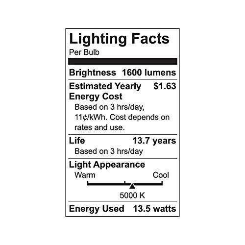 GE Refresh 100-Watt EQ A21 Daylight Dimmable LED Light Bulb (2-Pack)