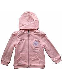 Toronto Maple Leafs Toddler Girls Pink Full-Zip Fleece Hoodie