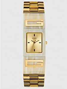 Guess Women's U12633L2 Gold Stainless-Steel Quartz Watch with Gold Dial