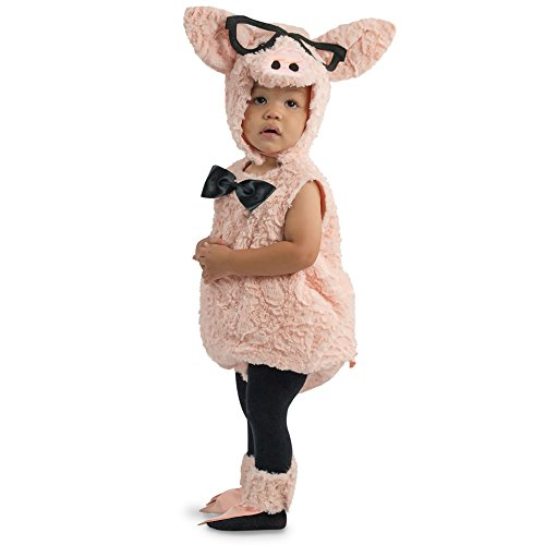Pig Costume For Baby (Hipster Pig Baby Infant Costume - Baby 6-12)