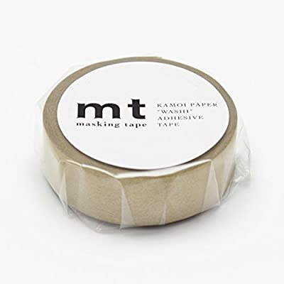MT Solids Washi Paper Masking Tape 3/5 x 11 yd Gold (MT01P205)