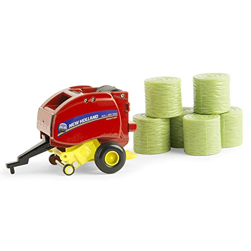 Ertl New Holland Roll Belt 560 Round Baler Vehicle (1:64 (New Holland Round Baler)