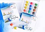 White Nights Artists' Watercolor 12 Pans Plastic