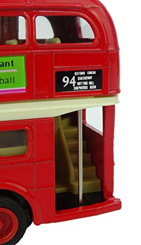 Peterkin 8412 London Bus and Taxi Set, Red/Black, 5-Inch