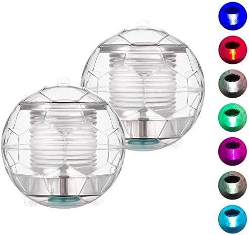 Large Solar LED Floating Lights Garden Pond Pool Lamp Color Changing Waterproof