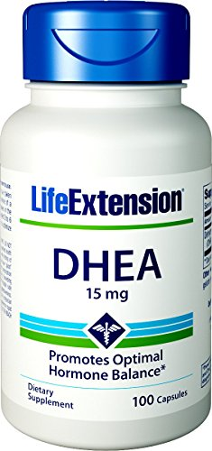Life Extension DHEA 15mg Capsules
