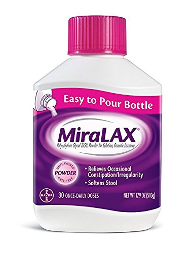 MiraLAX Powder WEDS 4Pack ((34 Does )20.4 oz Each ) by Miralax