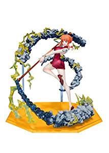 Bandai Figuarts Zero One Piece Nami Black Ball Approximately 155 mm ABS PVC Figure