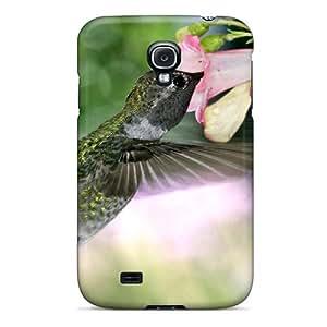 zedja4508byvyn anti-scratch funda protectora GraceFavor hambre colibrí carcasa para Galaxy S4