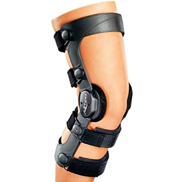 6b83d603d5 Donjoy Legend Knee Brace Post Op Orthotic Support Medium Right ACL ...